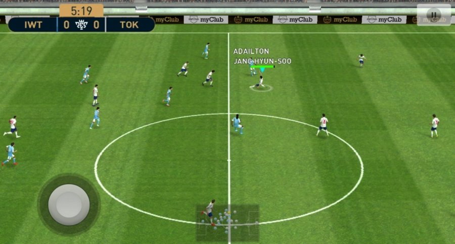 fix in PES 2020 Mobile