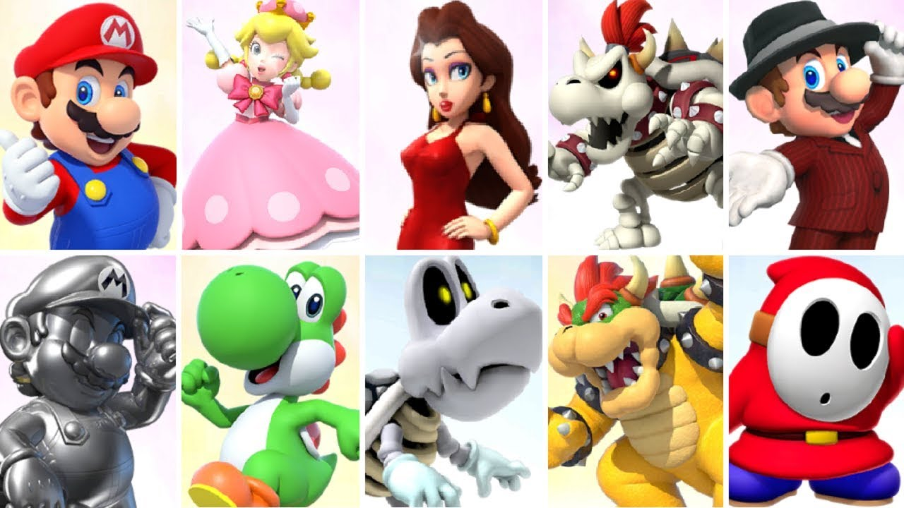 Mario Kart Tour Characters The Complete Guide Updated To Season 4