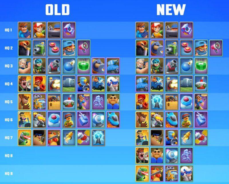 rush wars update 0.188, rush wars update