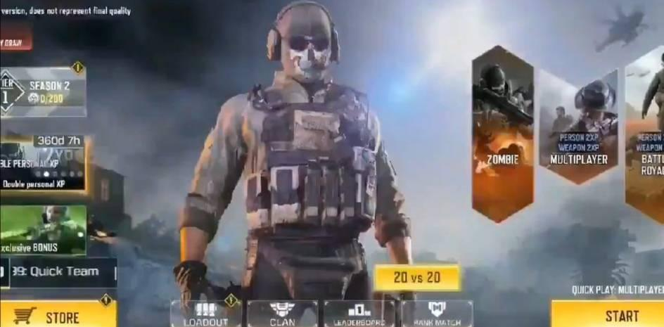20v20 game mode in call of duty mobile, call of duty mobile season 2 leaks