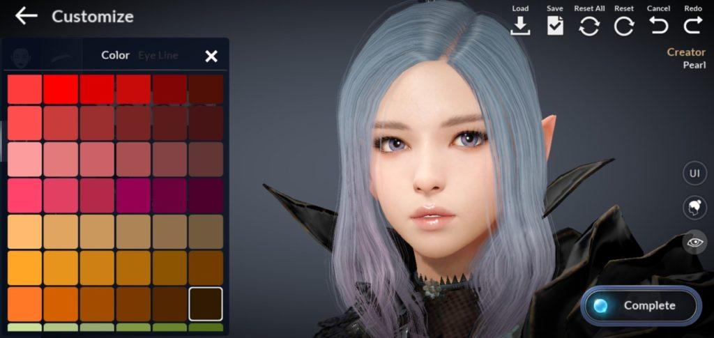 black desert mobile, character customization in Black desert mobile