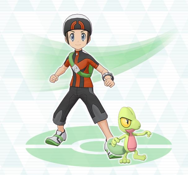 brendan and Trecko in Pokemon Masters, pokemon masters sync pairs