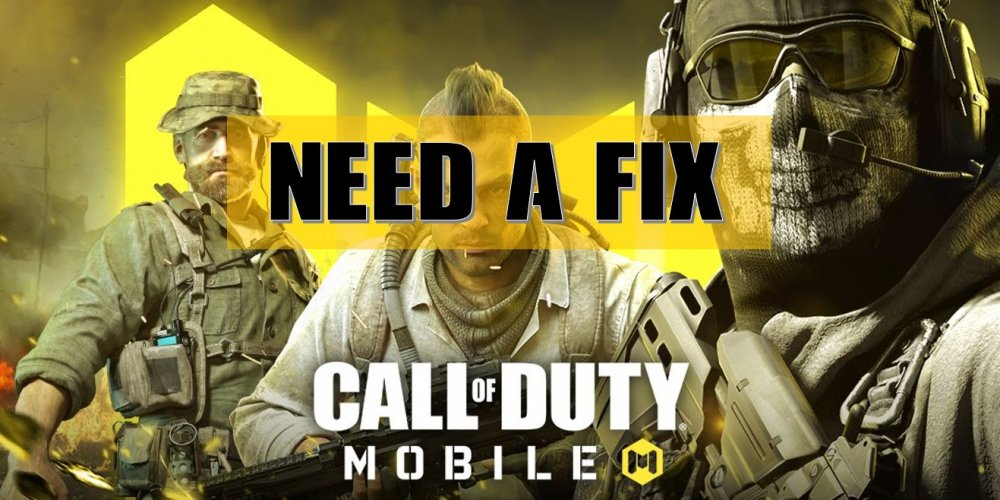 need a fix in Call of Duty Mobile, problems of cod mobile, cod mobile wallpaper