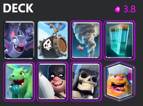 best triple elixir deck