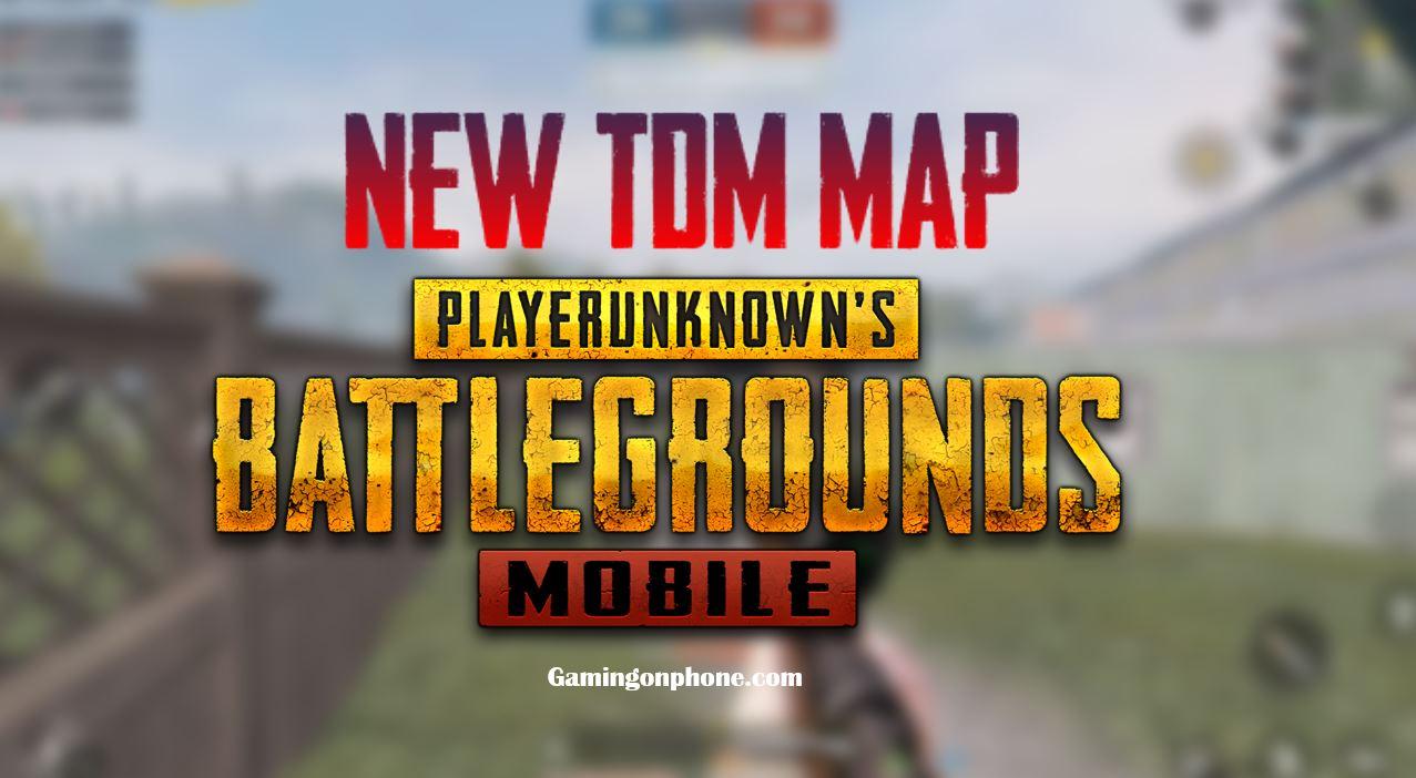 PUBG Mobile New TDM Map