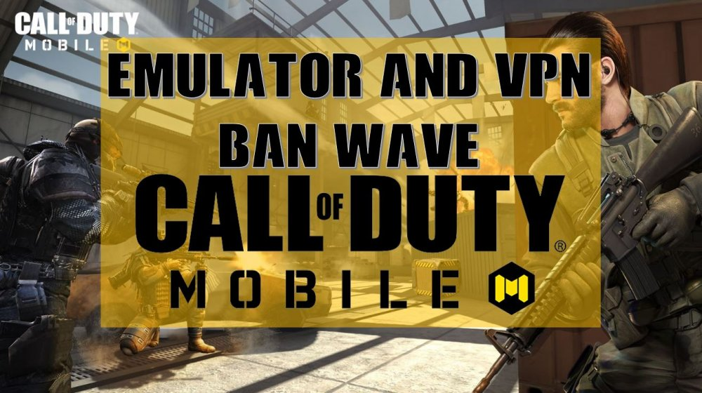 Call of duty mobile is banning emulator and vpn players, codm emulator ban, cod mobile vpn ban