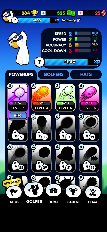 Golf Blitz tips and tricks