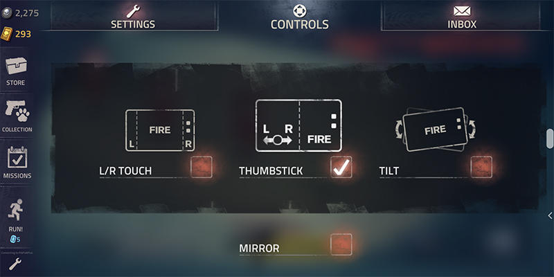 Into the Dead 2 controls controller settings