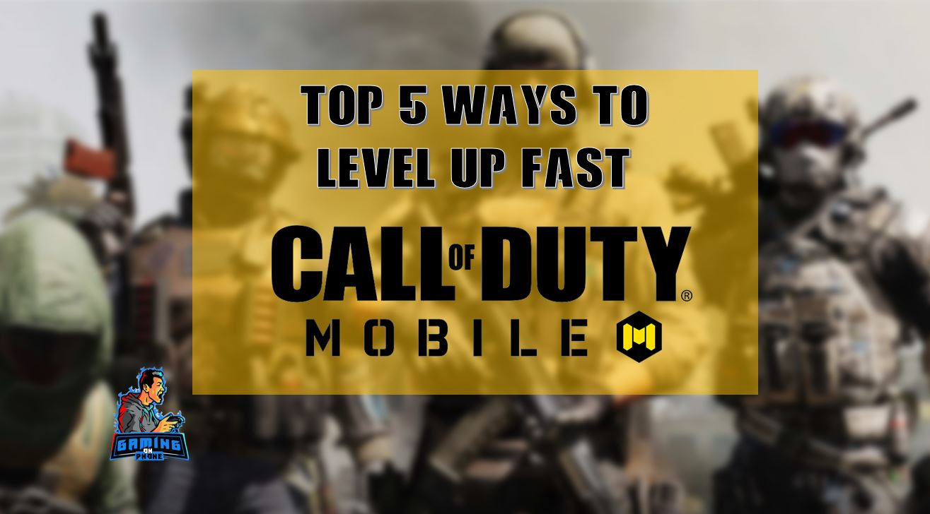 level up fast in call of duty mobile, cod mobile tips and tricks