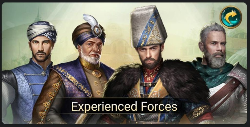 Game of Sultans viziers experienced forces