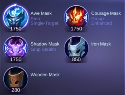 Mobile Legends Item guide  Mask