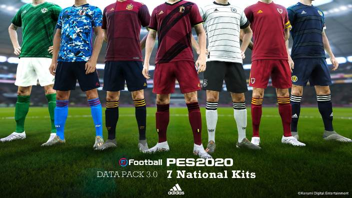 PES 2020 Data pack 3.0 update