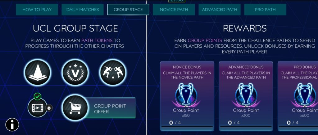 Fifa Mobile point management