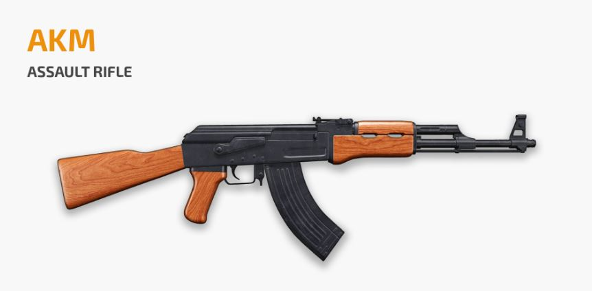 AKM, Best PUBG Mobile guns