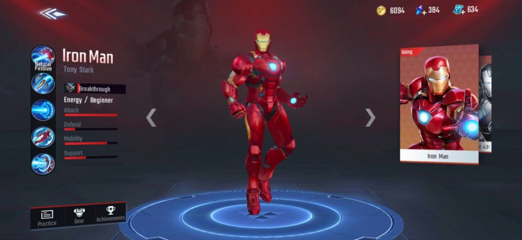 mage class, iron man in msw