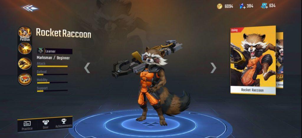 marksman marvel super war
