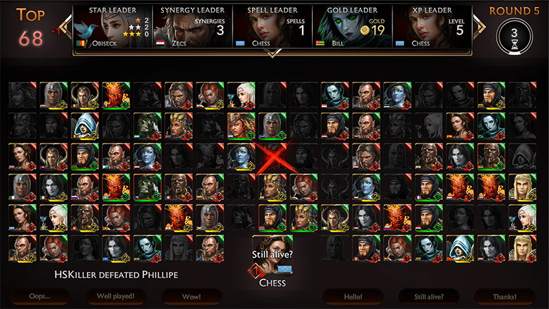 might & magic chess royale screenshot 100 players battle
