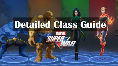 marvel super war class guide