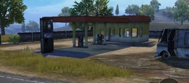 Petrol Pump Military base bridge