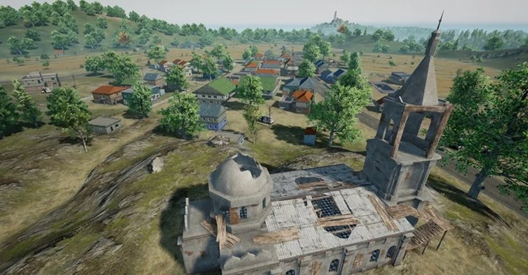 Pochinki Church