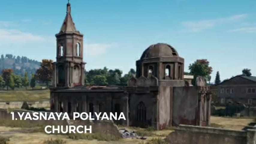 Yasnaya Polyana church PUBG Mobile