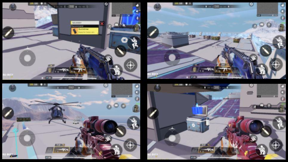 cod mobile aerial corvette loots