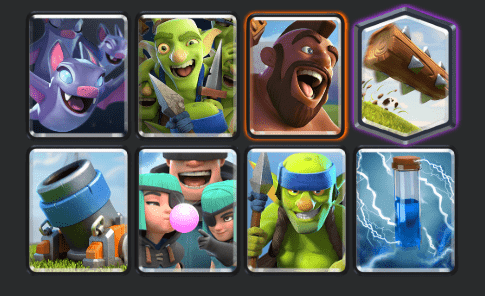 hog mortar deck
