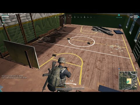 School basketball court PUBG Mobile