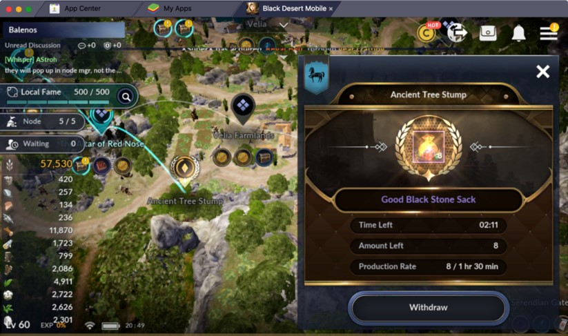 node manager black desert mobile