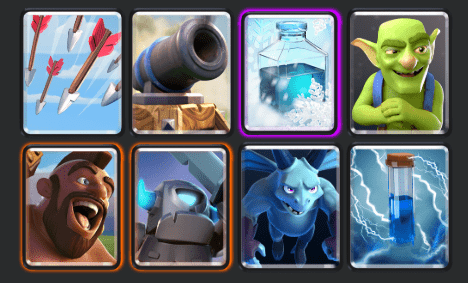 mini Hog Cycle deck