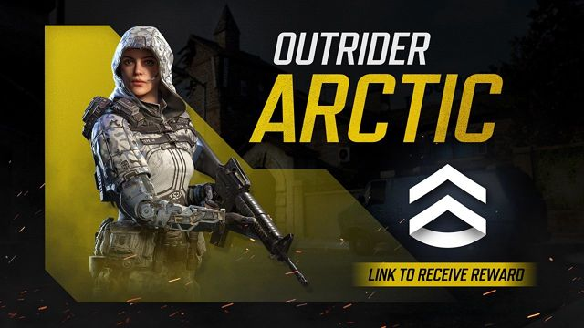 how to get Outrider Arctic skin in cod mobile