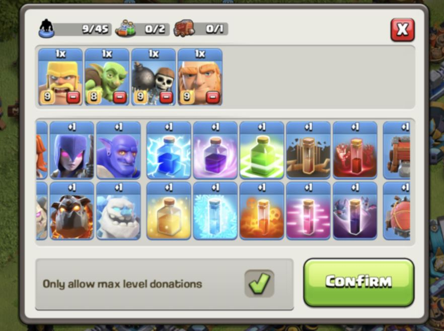 clash of clans new clan castle feature