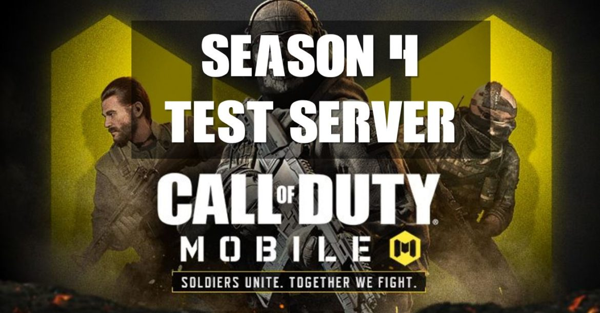 How To Download Call Of Duty Mobile Season 4 Test Server