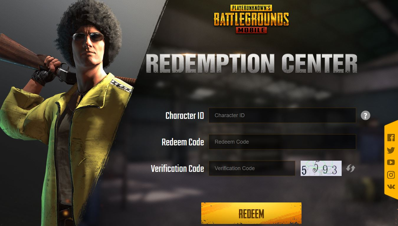 Pubg Mobile Free Redeem Codes Of 2020 And How To Redeem Them
