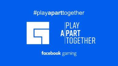 Facebook Gaming app