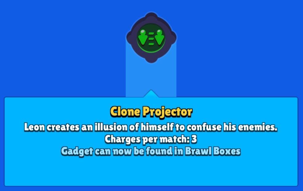 Clone Projector brawl stars, Brawl Stars Gadget
