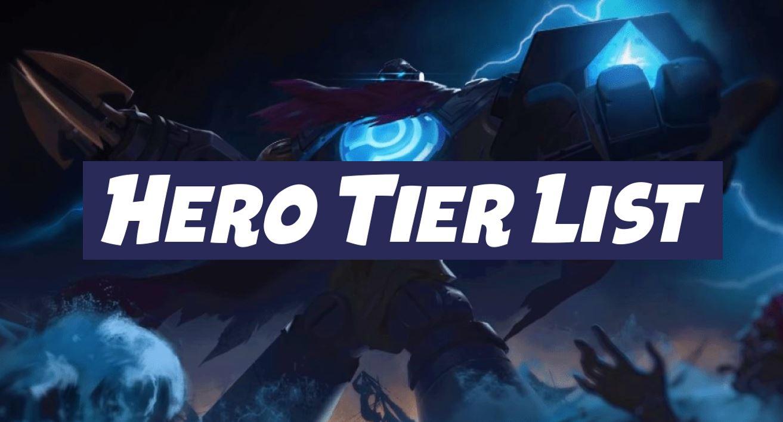 mobile legends tier list april 2020, Mobile legends season 16 meta heroes