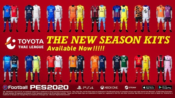 New Kits in PES Datapack 6.0 Update