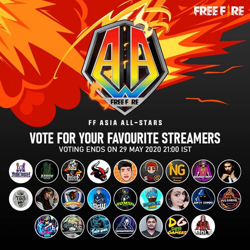 Free Fire Asia All-Stars