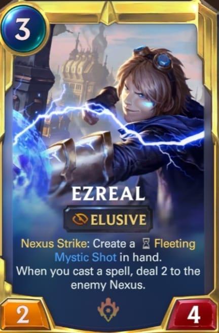 Ezreal Legends of Runeterra Champions