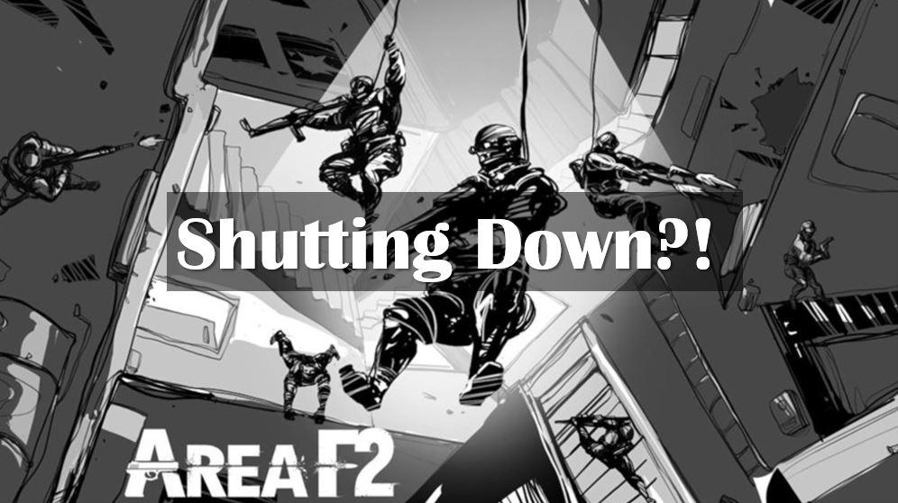 Area F2 is shuting down