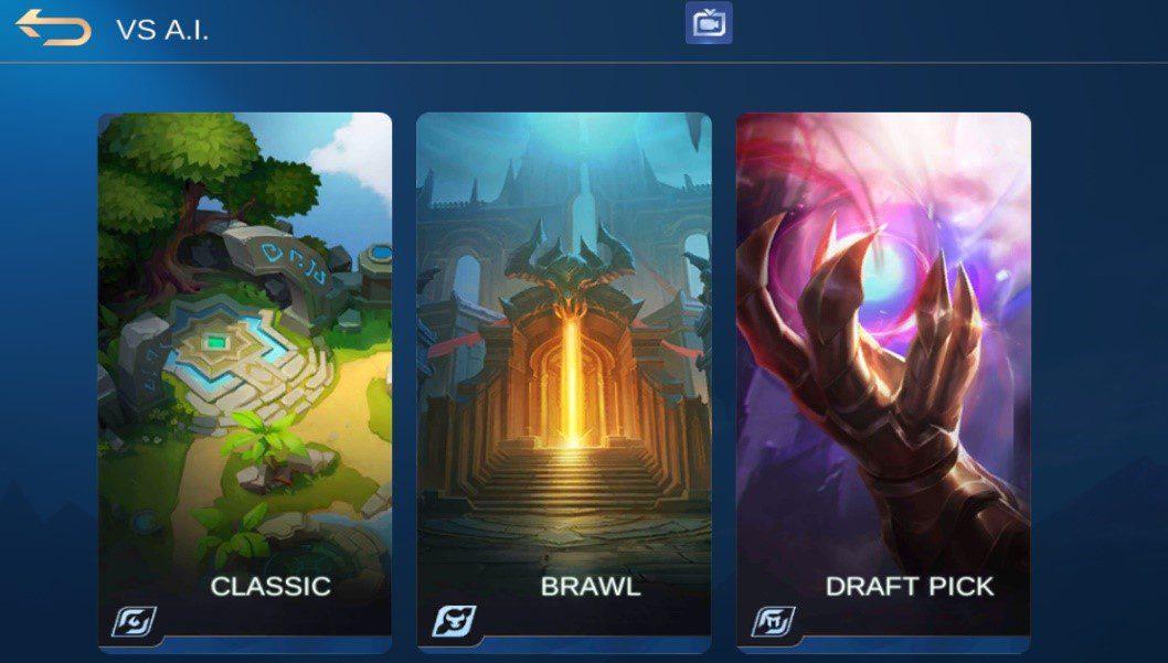 Mobile Legends Battle Points A.I. matches