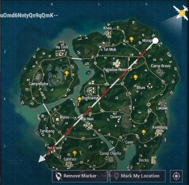 PUBG Mobile hot air balloon location, pubg mobile