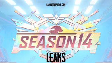 PUBG Mobile season 14 leaks