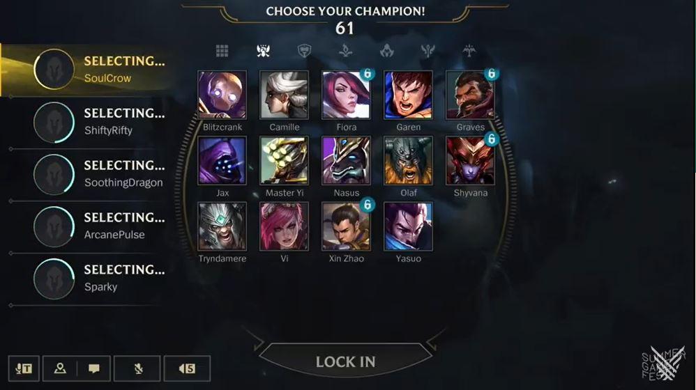 wild rift champion selection, wild rift, league of legends wild rift