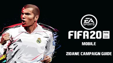 Photo of FIFA Mobile 20 Zidane Campaign Guide