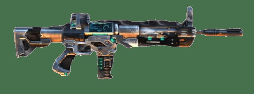 Free Fire Weapon Royale Titan SCAR