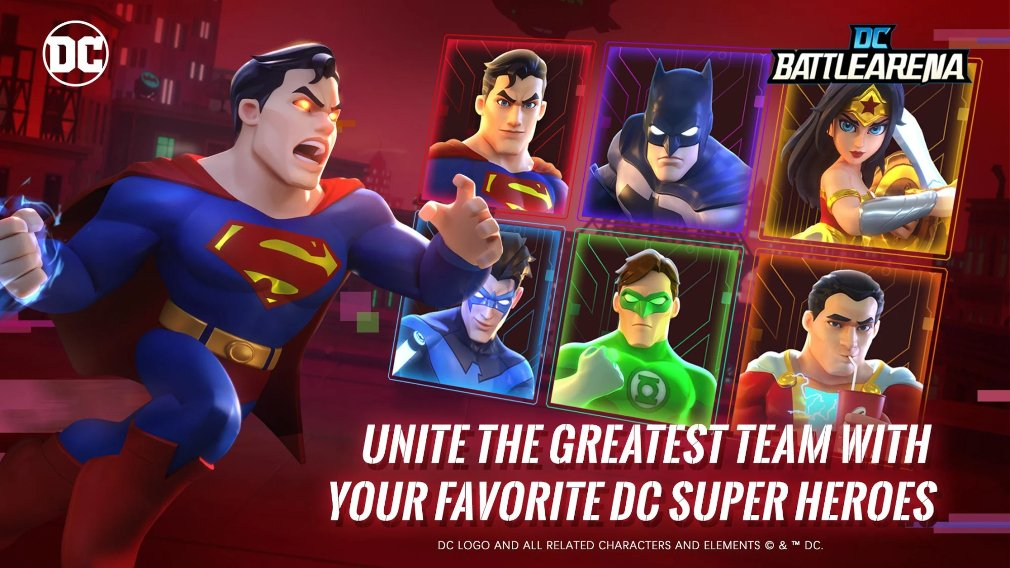DC Battle Arena closed beta test for Android