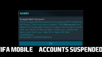 FIFA Mobile Accounts Banned