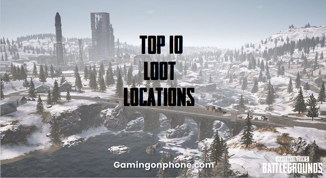 Pubg Mobile Top 10 Loot Locations In Vikendi Gamingonphone